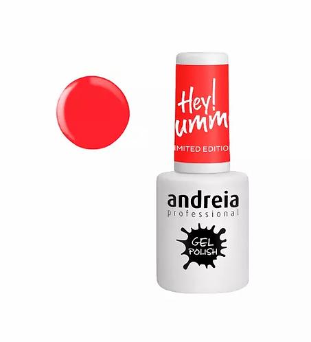 Andreia Gel Polish Hey Summer HS2 - Laranja Néon 10.5ml - lindecosmetics.com