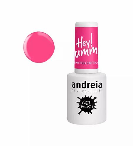 Andreia Gel Polish Hey SummerHS1 - Rosa Vivo 10.5ml - lindecosmetics.com