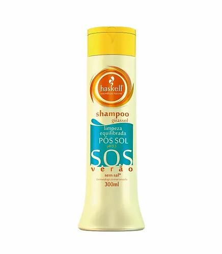 Haskell Shampoo Pos Sol SOS 300ml - lindecosmetics.com