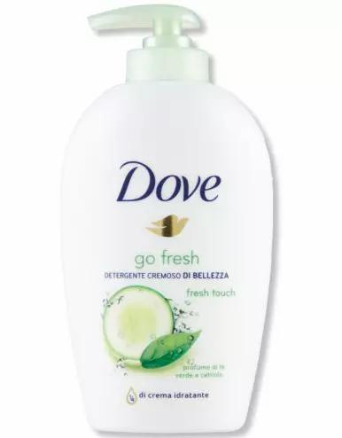 Dove Go Fresh Touch Cucumber Sabonete Líquido 250ml-lindecosmetics