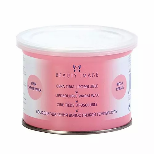 Beauty Image Cera Lata - Rosa 400g - lindecosmetics.com