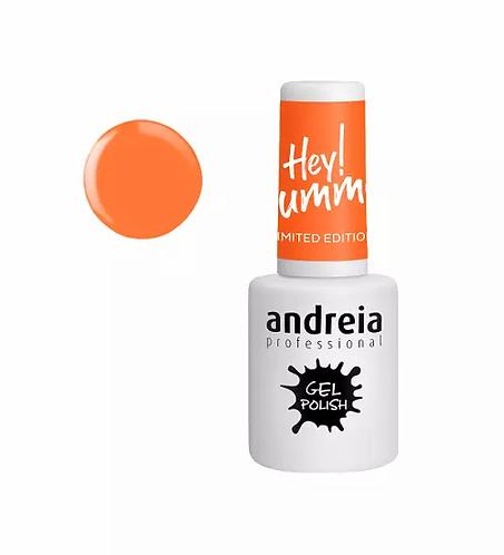Andreia Gel Polish Hey Summer HS3 - Laranja Claro Néon 10.5ml - lindecosmetics.com