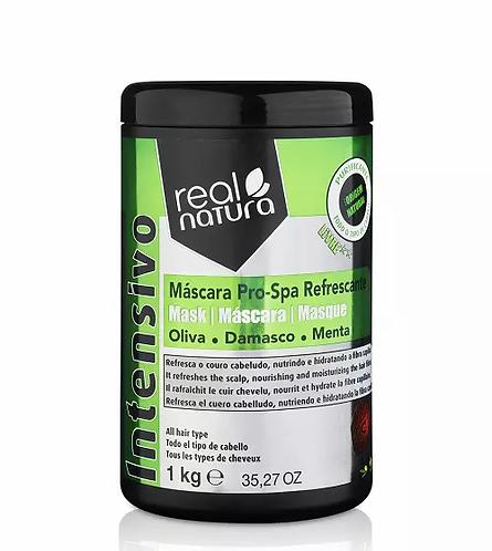 Real Natura Máscara Sem Sal Pro-Spa Refrescante 1Kg - lindecosmetics.com