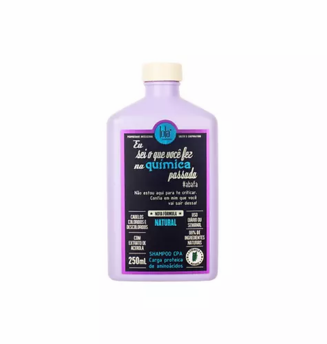 Lola Eu Sei O Que Você Fez Na Química Passada - Shampoo 250ml - lindecosmetics.com