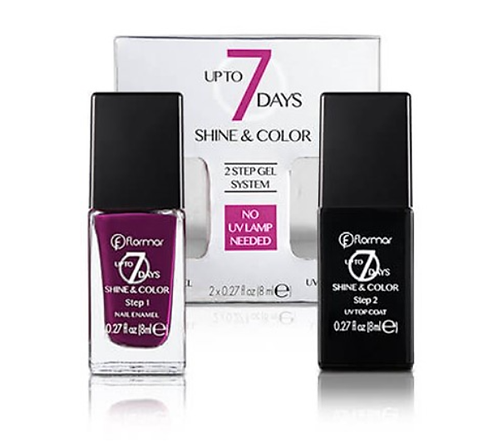 Flormar Shine & Color Nail 2X8ML - lindecosmetics.com