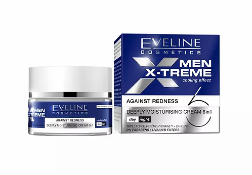 Eveline MEN X-TREME Creme Histrantante 6 Em 1 50ml - lindecosmetics.com