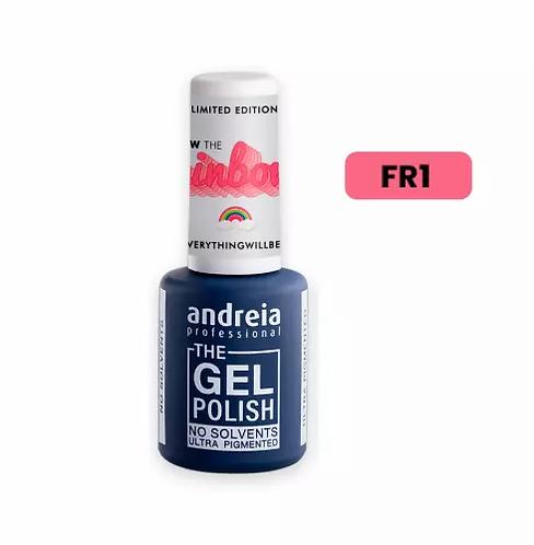 """The Gel Polish FR1 Coral Néon 10.5ml """"Follow the Rainbow""""- Andreia - lindecosmetics.com"""