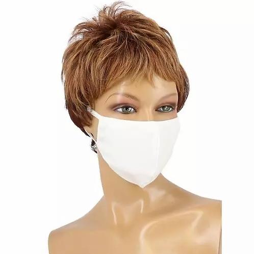 Máscara de Proteção em Texido Branco - lindecosmetics.com