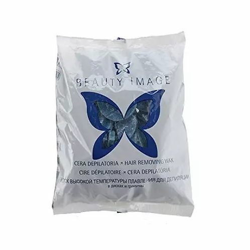 Beauty Image Cera Discos 1kg - Azul - lindecosmetics.com