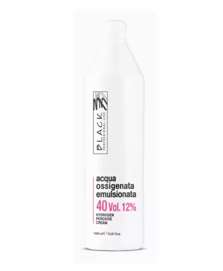Black Professional Oxidante Creme 40 Vol 1000ml - lindecosmetics.com