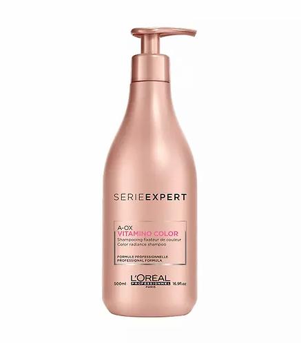 L'Oréal Professionnel Série Expert Vitamino Color A-OX Shampoo 500ml - lindecosmetics.com