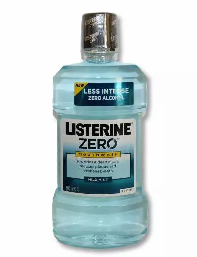 Listerine Total Zero Mildmint 500ml