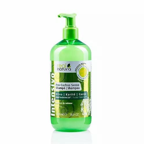Real Natura Shampoo Sem Sal Pro-Cachos Secos Oliva E Karité 500ml - lindecosmetics.com