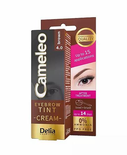 Delia Cameleo Henna Creme Eye E Sobrançelhas 15ml Cor 4.0 - lindecosmetics.com