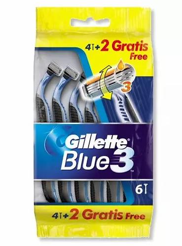 Gillette Blue3 6 PÇS