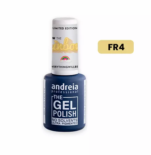 "The Gel Polish FR4 Amarelo ""Follow the Rainbow""10.5ml - Andreia - lindecosmetics.com"