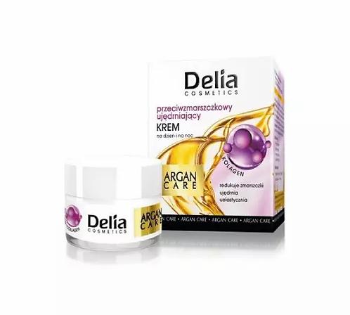 Delia Argan Care 45+ Creme  Antirrugas Reafirmante com Cólageno 50ml - lindecosmetics.com