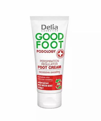 Delia Good Foot Regulador De Transpiração Para Pés 100ml - lindecosmetics.com