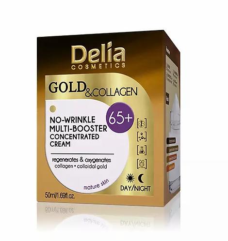 Delia 65+ Creme Gold & Collagen Multi-Booster 50ml - lindecosmetics.com