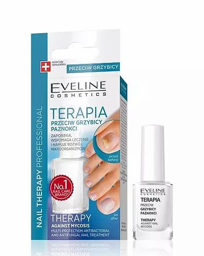 Eveline Nail Therapy Against Antifungal 12ml, Tratamento De Unhas Antifungico - lindecosmetics.com