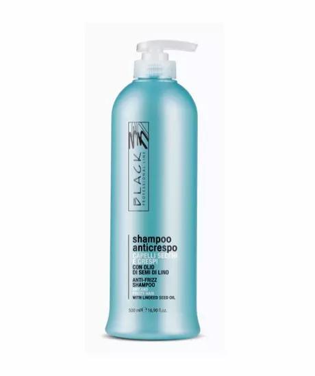 Black Professional Shampoo Anti-Crespo 500ml - lindecosmetics.com