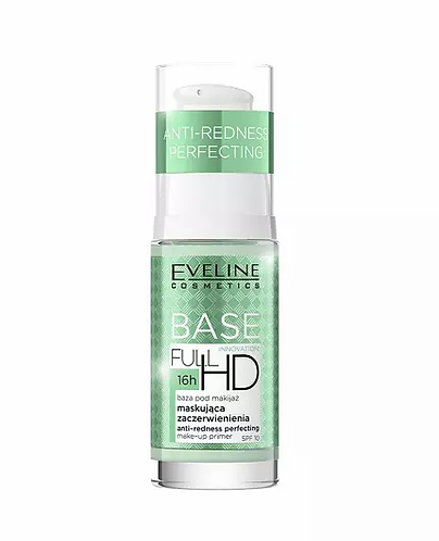 Eveline Full HD Make-Up Primer Base Antiredness Perfecting 30ml - lindecosmetics.com