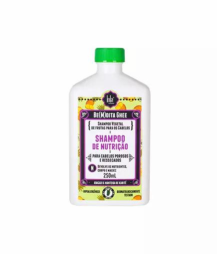 Lola Be(m)dita Ghee Shampoo Nutrição Abcaxi E Manteiga De Bacuri 250ml - lindecosmetics.com