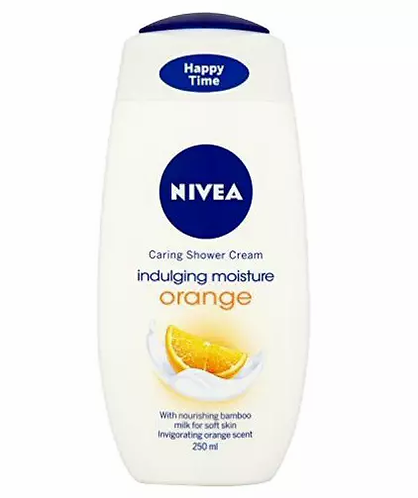 Nivea Indulgente Moisture Orange Gel Banho 250ml