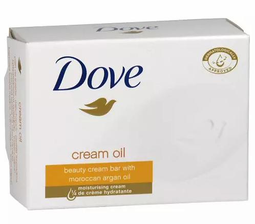 Dove Cream Oil Sabonete 100g-lindecosmetics