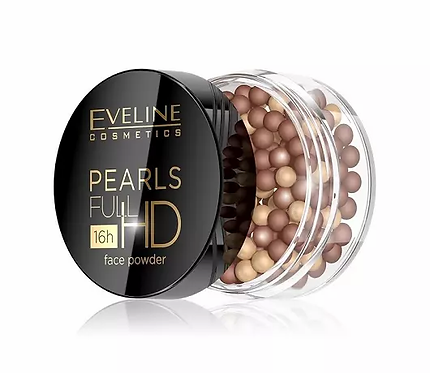 Eveline Pearls Full Hd Colour Powder Bronzing 15g - lindecosmetics.com