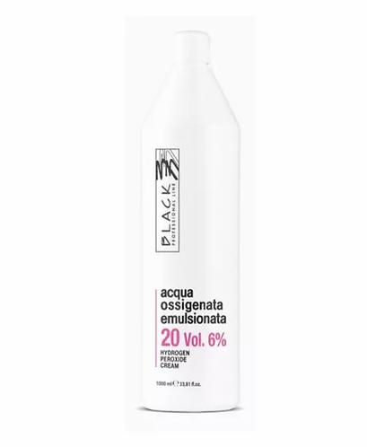 Black Professional Oxidante Creme 20 Vol 1000ml - lindecosmetics.com