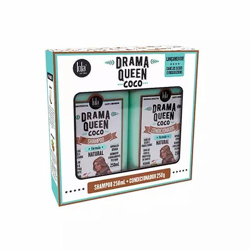 Lola KIT Drama Queen Coco - Shampoo 250ml + Condicionador 250g - lindecosmetics.com