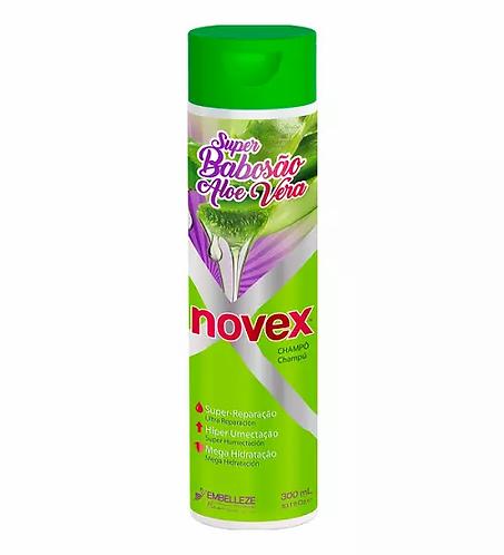 Novex Shampoo Super Babosão Aloe Vera 300ml - lindecosmetics.com