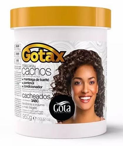 Gota Dourada Gotax Creme de Tratamento Cachos Cacheados (3ABC) 950g - lindecosmetics.com