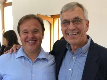Bill (right) with Teleios partner Attila Toth