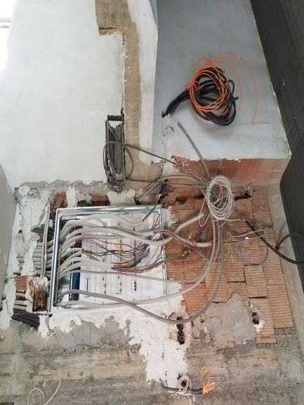 electrical box and intranet wiring
