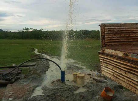 Water Flows in Tanzania!