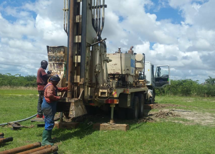 The Drilling Begins!