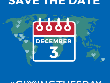 #GivingTuesday Is Coming Up