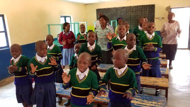 Asante sana children singing