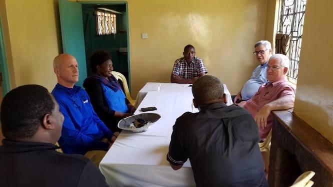 Pastor Peter shares his heart for Nyeri Slum.