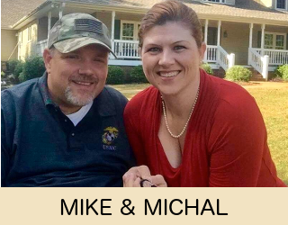 Mike and Michal Hudson