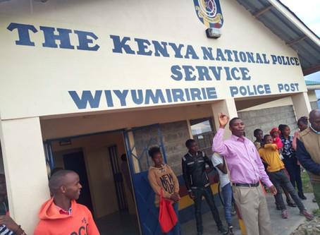 Please Pray for Kenyan Police Station