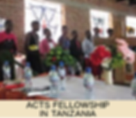 ACTS Fellowship in Tanzania