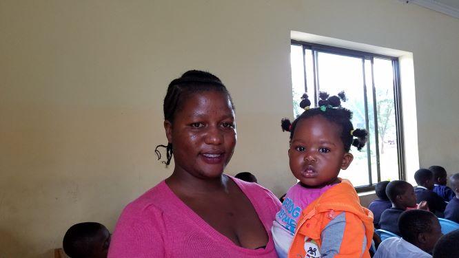 Ikupa and Catherine