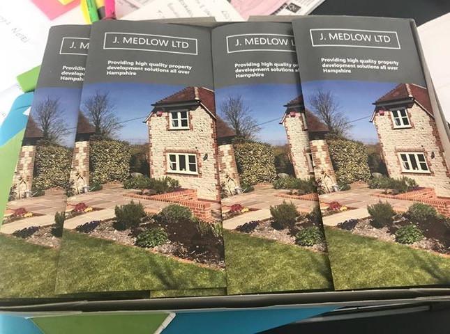 J Medlow Ltd's new brochures