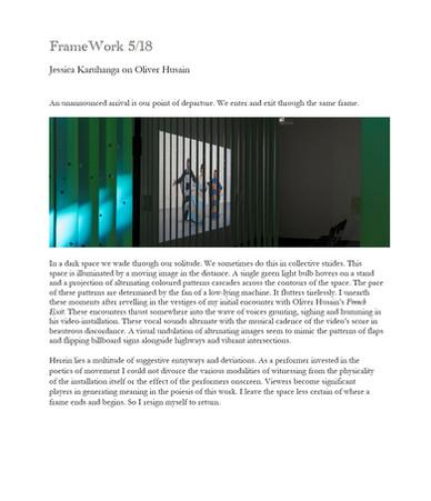 FrameWork 5/18: Oliver Husain