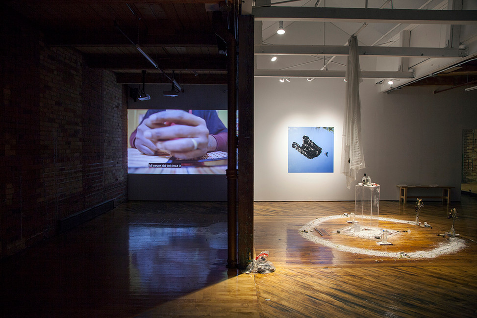 """Ineffable Blaze"" installation image. Photo credit: Toni Hafkenscheid."