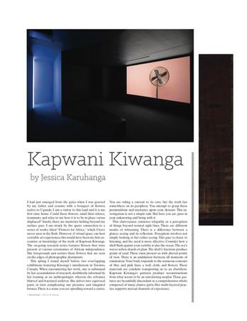 Kapwani Kiwanga