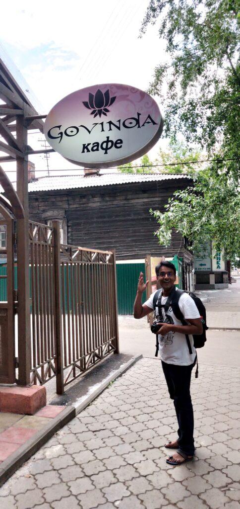 Govinda's vegan cafe at Irkutsk